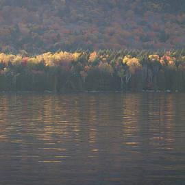 Edward Muennich - Fall Lake and Mountain.