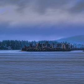 Fall Rainstorm Over Lake Wausau by Dale Kauzlaric