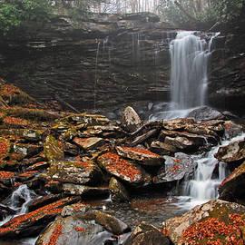 Falls of Hills Creek - Middle Falls by Ben Prepelka
