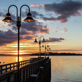 Edward Muennich - Falmouth Town Landing Sunrise
