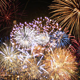 Fancy Fireworks by Ally White