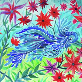 Adria Trail - Fancy Fowl in the Flowers