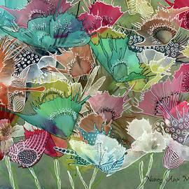 Nancy Ann Mulcare - Fantasy Blooms