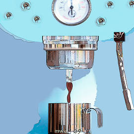 Fantasy Espresso Machine by Marian Cates