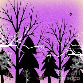 Fantasy Forest by Diamante Lavendar