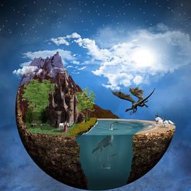 Fantasy Planet 1 by Barroa Artworks