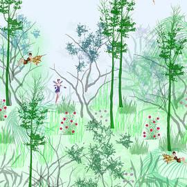 Fantasy Woods by Rosalie Scanlon