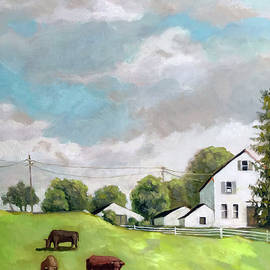 Farm country by Linda Apple