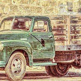 Jean OKeeffe Macro Abundance Art - Farmers Market Truck