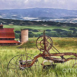 Priscilla Burgers - Farming in Days Gone By