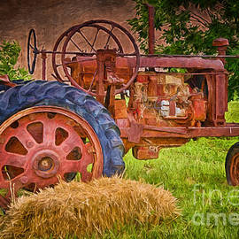 Farming in Hanksville Utah by Priscilla Burgers