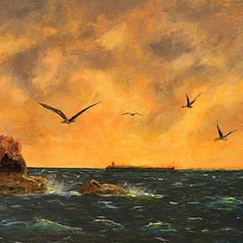 Fastnet Light Ireland by Ken Figurski