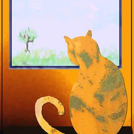 Kae Cheatham - Fat Cat At Her Window