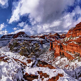 ABeautifulSky Photography - Fay Canyon Snowfall 2