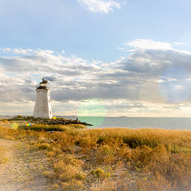 Fayerweather Island Light by Charles 'Duck' Unitas