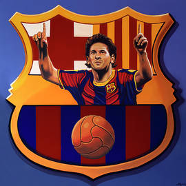 Paul Meijering - FC Barcelona Painting
