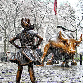 Nishanth Gopinathan - Fearless Girl and Wall Street Bull Statues 4