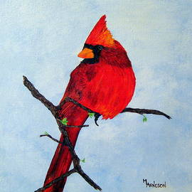 Feathered Rubies by Mary Arneson