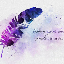 Feathers Appear When Angels Are Near - Rebecca Jenkins