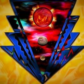 Mario Carini - Federated Badge of Planets