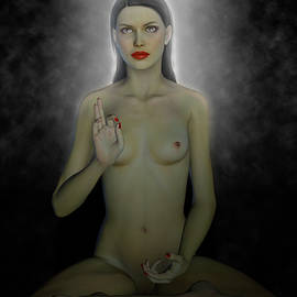 Joaquin Abella - Female aspect of Buddha