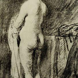 Female Nude - Rembrandt Harmensz van Rijn