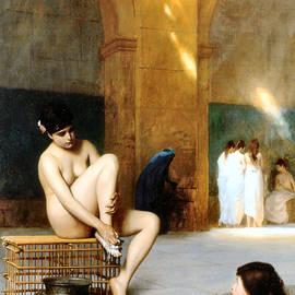 Femme Nue 1889 by Jean Leon Gerome 1824-1904