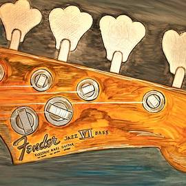 Fender Guitar Handle by Barbara Donovan