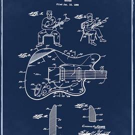Bill Cannon - Fender Jazzmaster Patent 1960 Blue