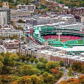 Fenway Park  Boston Red Sox by Carol Japp