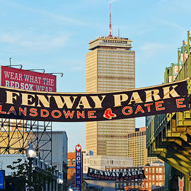 Fenway Park Tote Bag by Toby McGuire