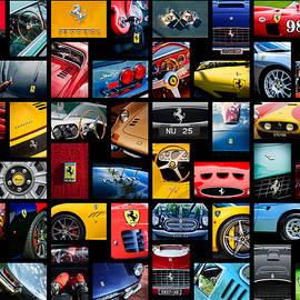 Ferrari Art -01 by Jill Reger