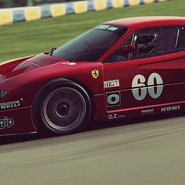 Andrea Mazzocchetti - Ferrari F40 LM - 14