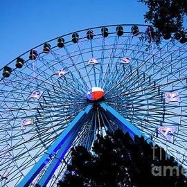 Ferris Wheel at Dusk, The State Fair of Texas