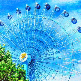 Ferris Wheel Dream Sky by Susan Lafleur