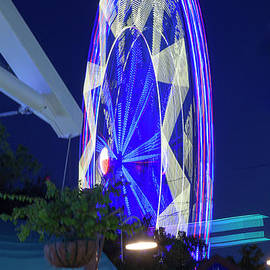 Greg Kopriva - Ferris Wheel, Night Motion, The State Fair of Texas