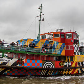 Ferry Cross the Mersey - Razzle Boat Snowdrop by Venetia Featherstone-Witty