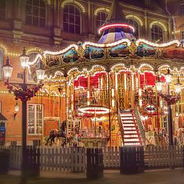 Carol Japp - Festive Carousel Tivoli Gardens Copenhagen