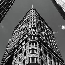 Fidelity Building in Black and White Baltimore