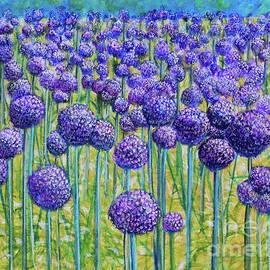 Field Of Allium by Lyric Lucas