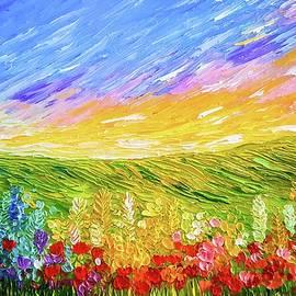 Jessica T Hamilton - Field of Flowers