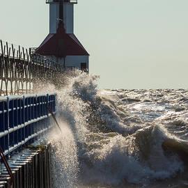 Jennifer White - Fierce Waves At St Joseph