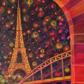 Nancy Shen - Fiery Eiffel Tower