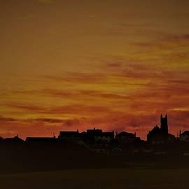 Nicola Spence - Fiery Sky Over Castlerock