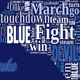 Fight Fight Blue Devils by Paulette B Wright