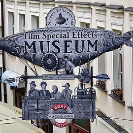 Richard Rosenshein - Film Special Effects Museum Signage In Prague