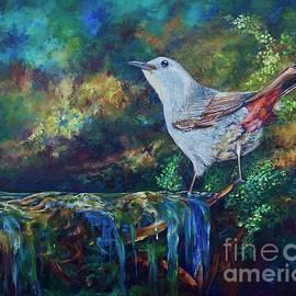 Gray Catbird by AnnaJo Vahle