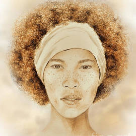 Jim Fitzpatrick - Fine Foxy Fashionable Freckled Faced Female with a Fro