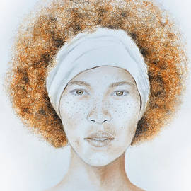 Jim Fitzpatrick - Fine Foxy Fashionable Freckled Female with a Fro