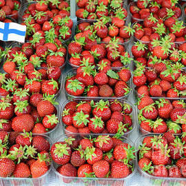 Finnish Strawberries by Catherine Sherman